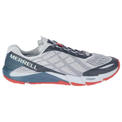 Merrell Bare Access Flex E-Mesh - Chaussures running Homme - gris sur campz.fr !